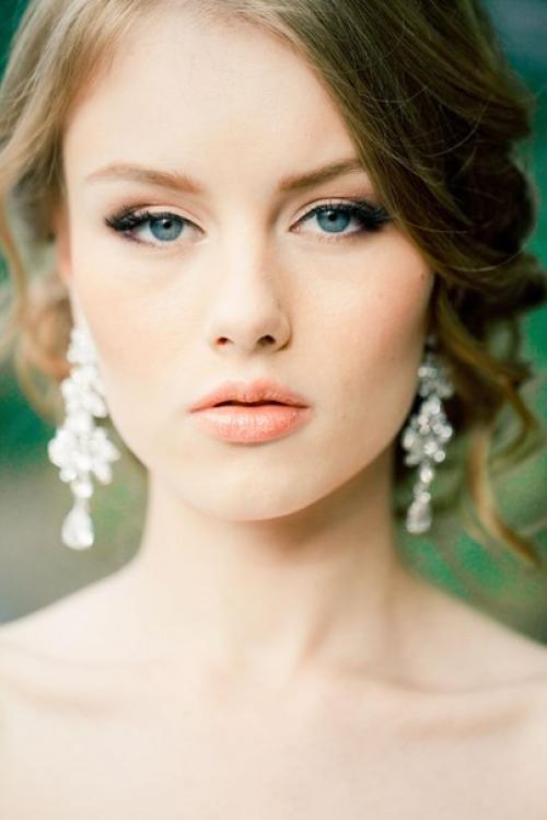 Свадебный макияж естественный