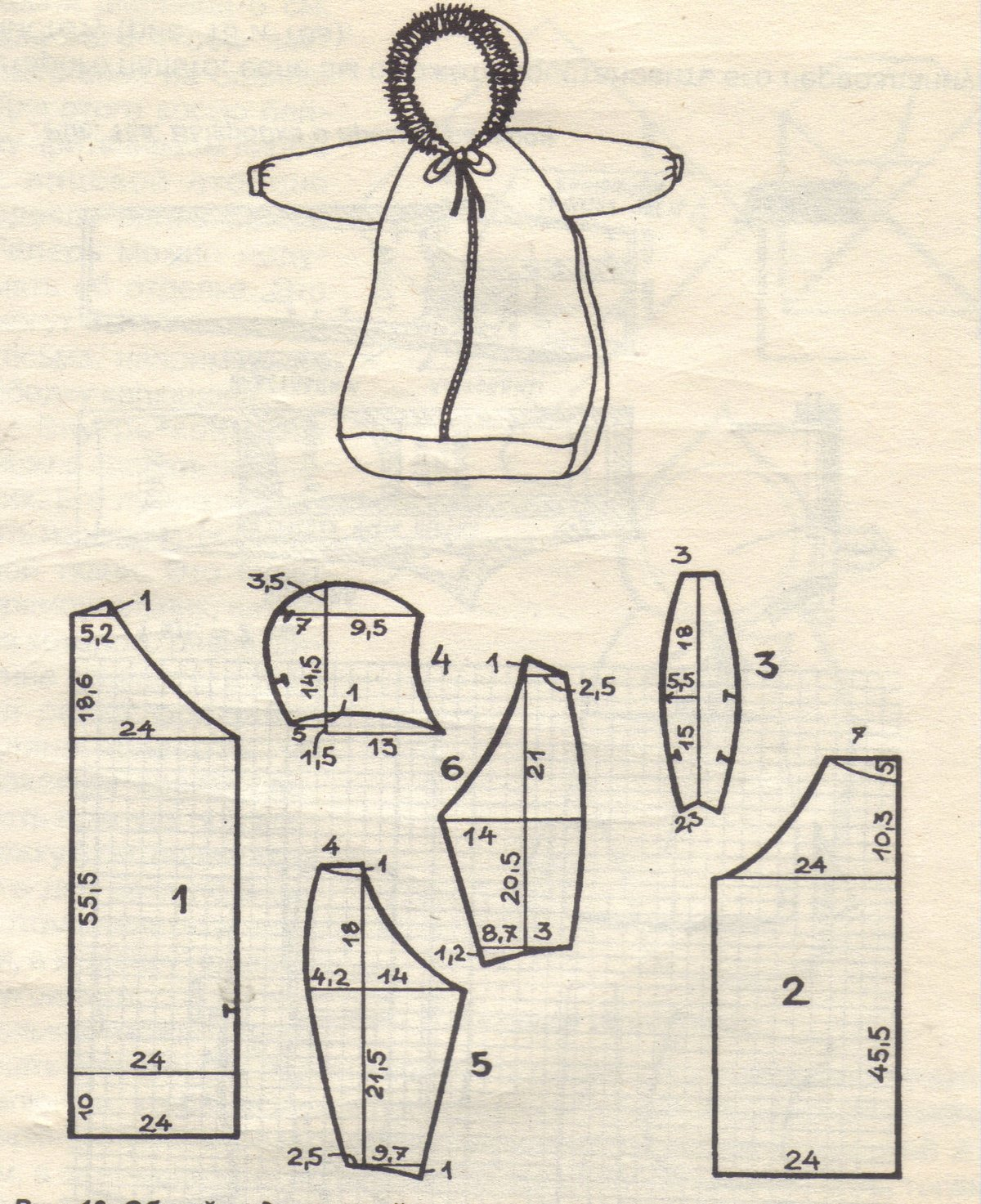 Выкройки конверта для малышей своими руками