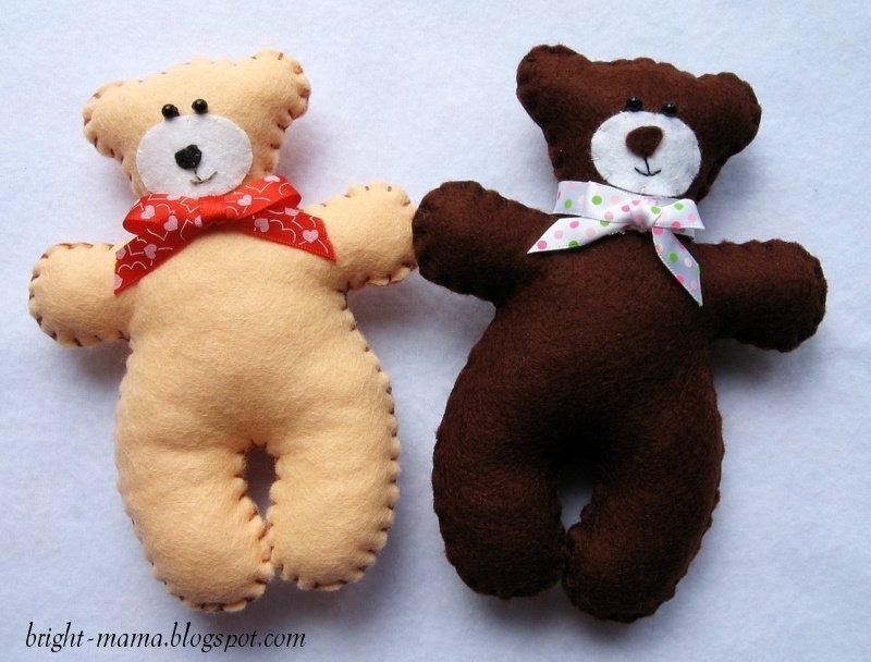 Самодельные мягкие игрушки для детей