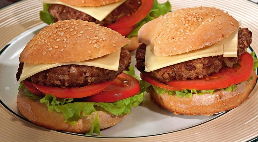 Как приготовить бургеры в домашних условиях фото 360