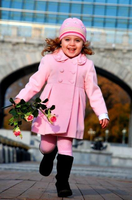 Осенние пальто для девочки своими руками 459