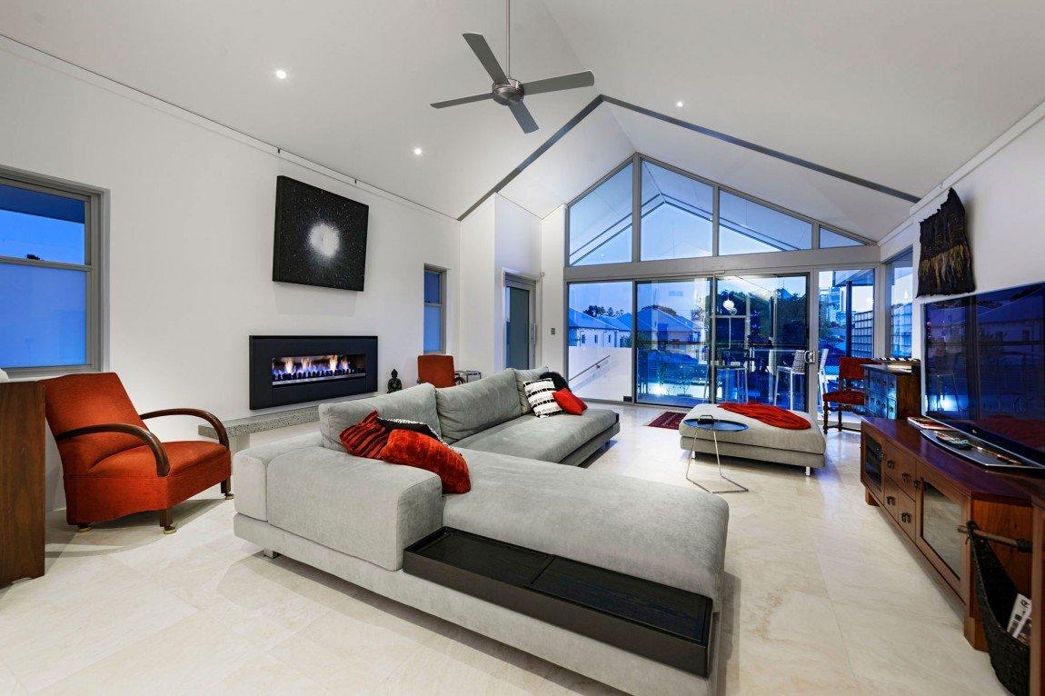 Дизайн комнат в домегалерея в хайтеке