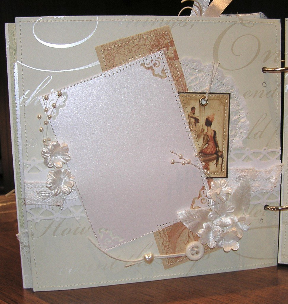 Скрапбукинг свадебные альбомы своими руками фото