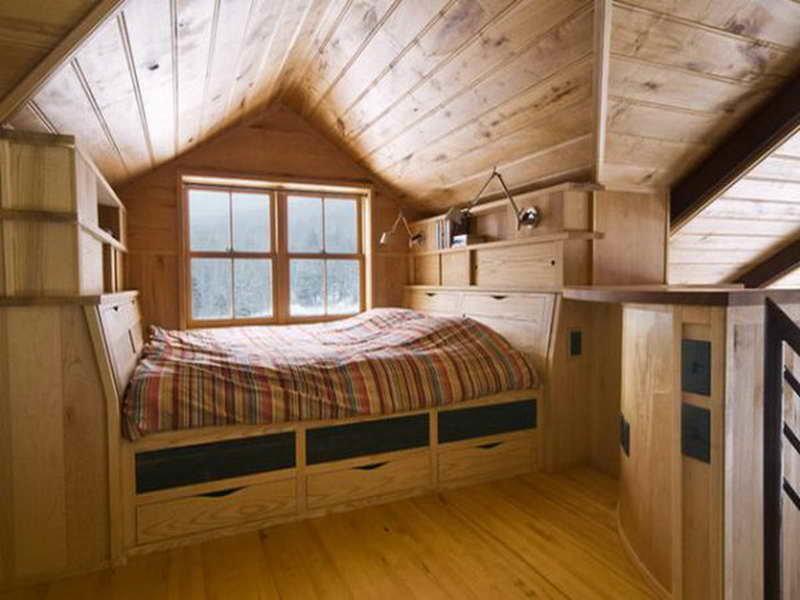 Ремонт комнаты на даче своими руками фото 9