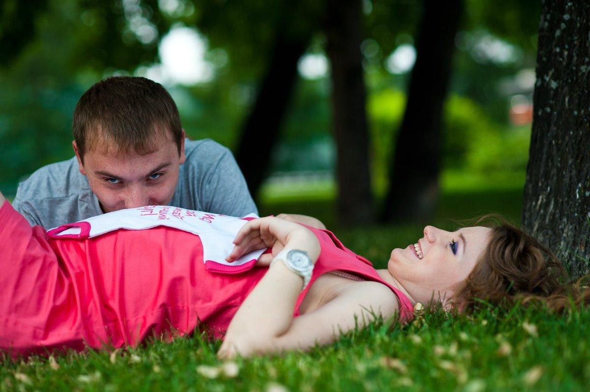 Дамочка Беременныесессии на природе с мужем