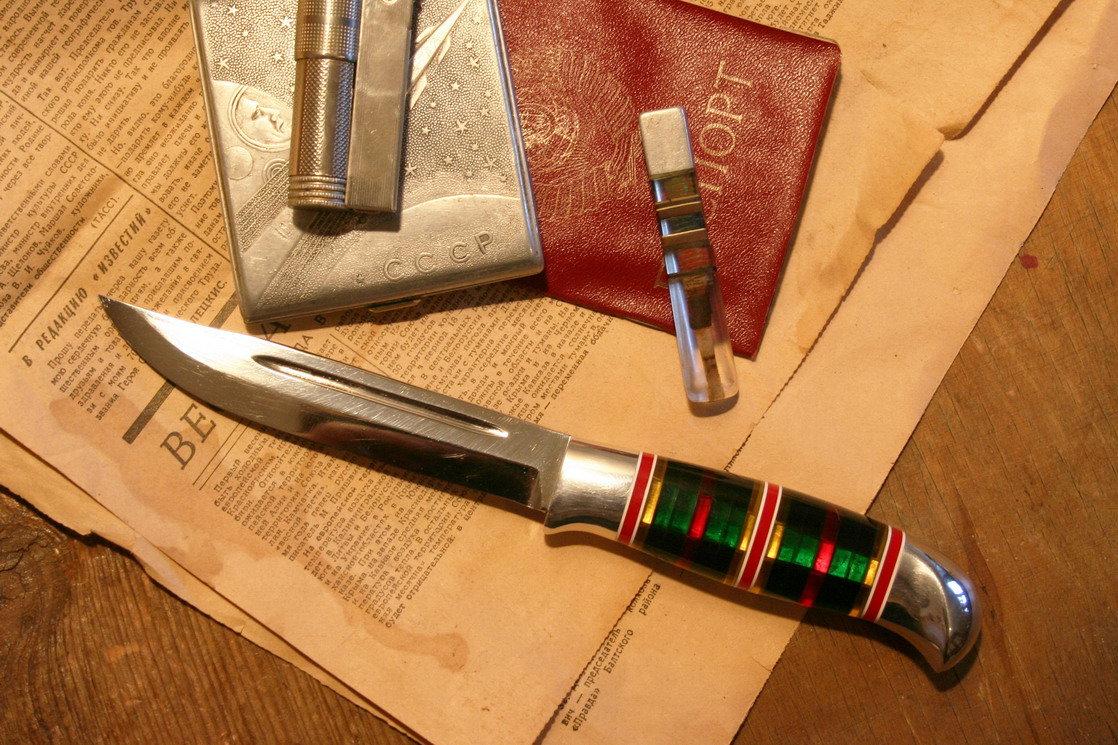 Как сделать ручек для ножа 235