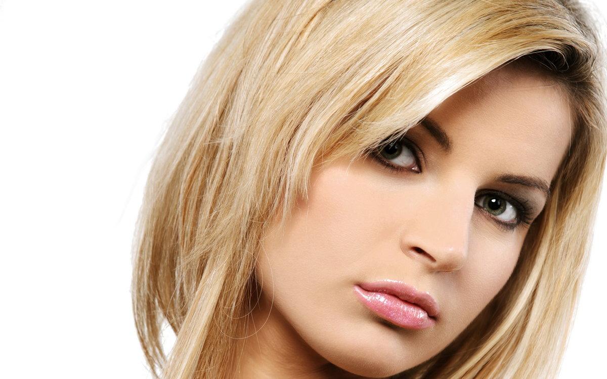 Макияж для кареглазых блондинок