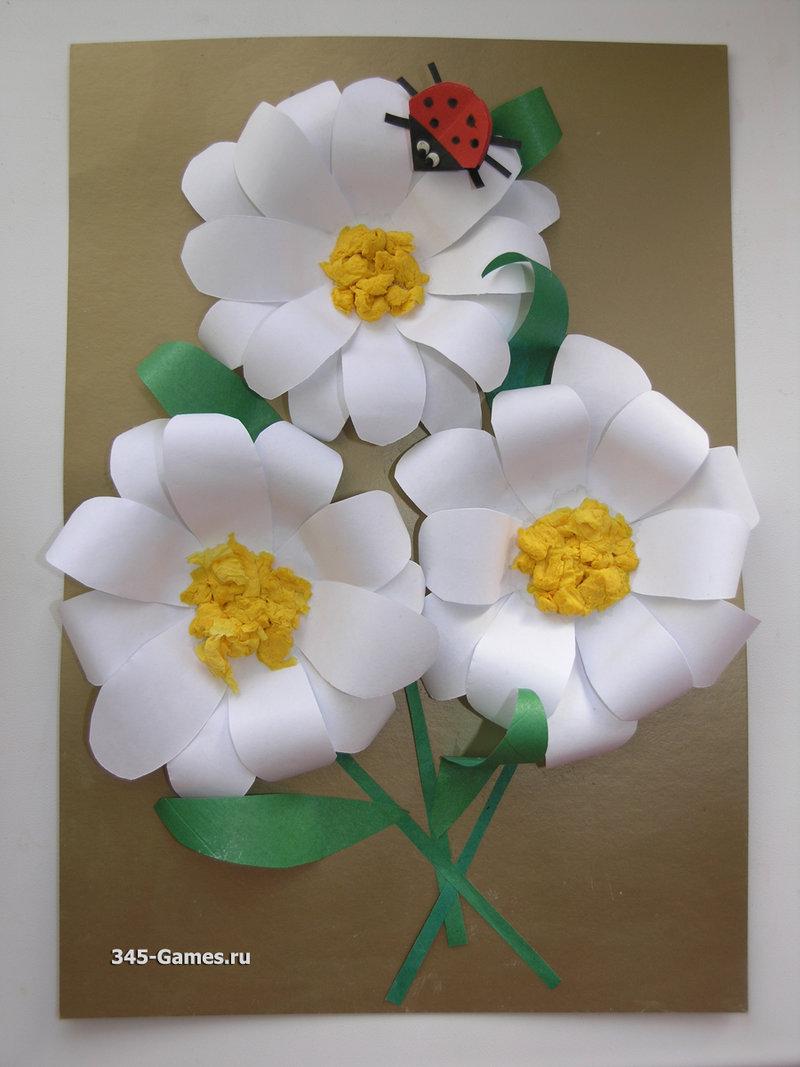 Поделки из бумаги объемные цветы из бумаги