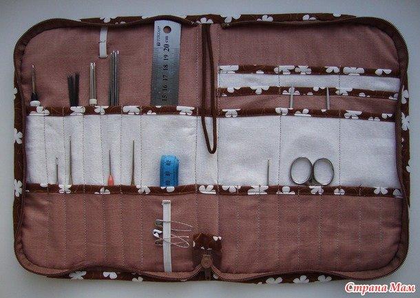 Органайзер для швейных принадлежностей своими руками мастер класс 27
