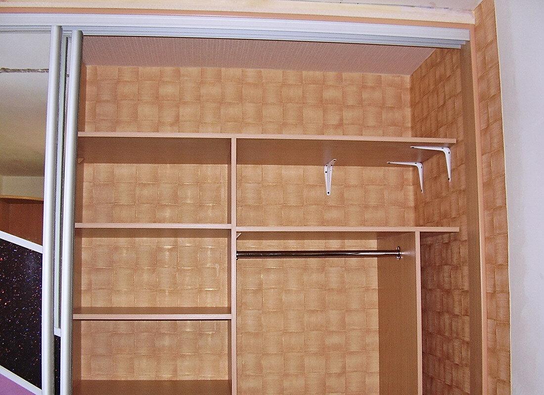 Как самому сделать встраиваемый шкаф купе
