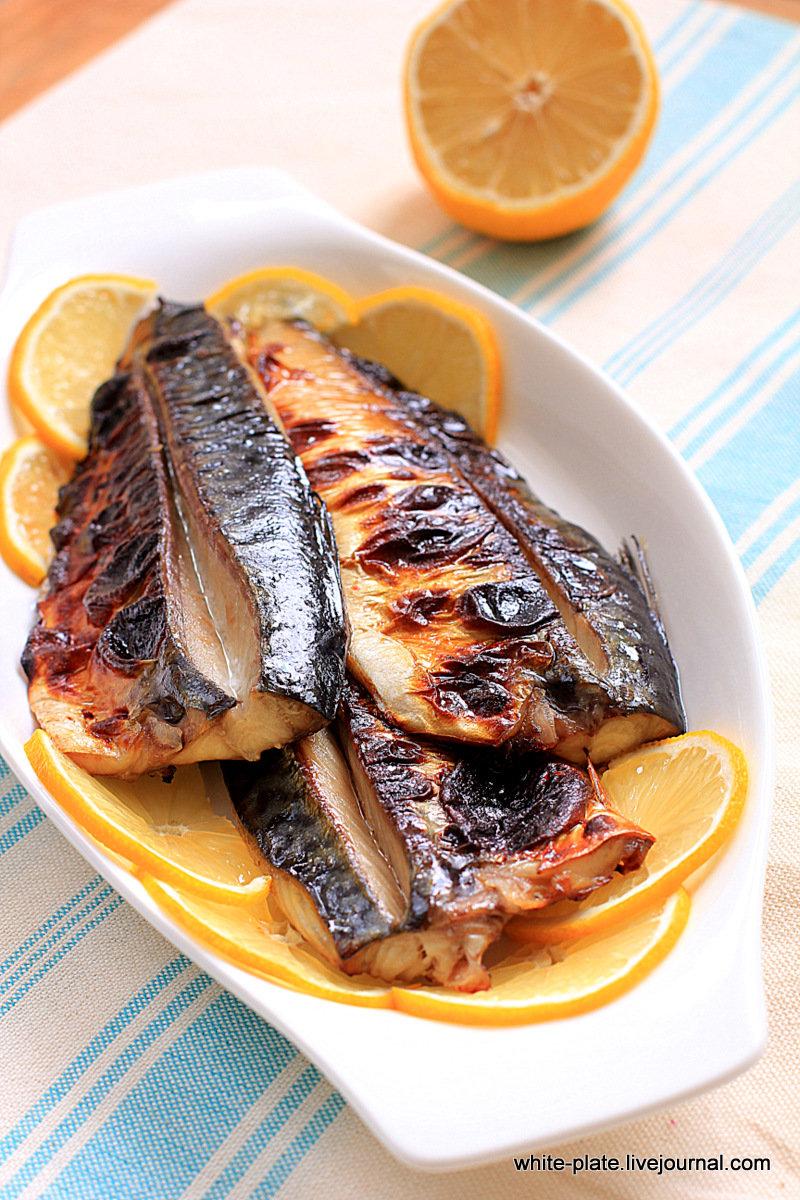 Рыба на гриле пошаговый рецепт с