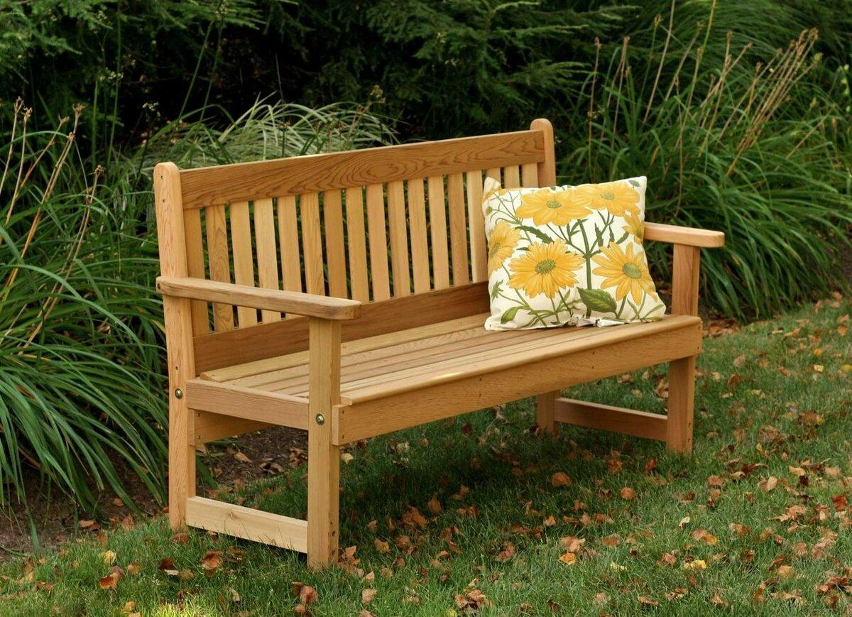 Садовая мебель как ее сделать своими руками