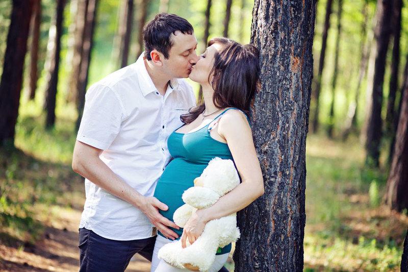Идеи для беременнойсессии на природе