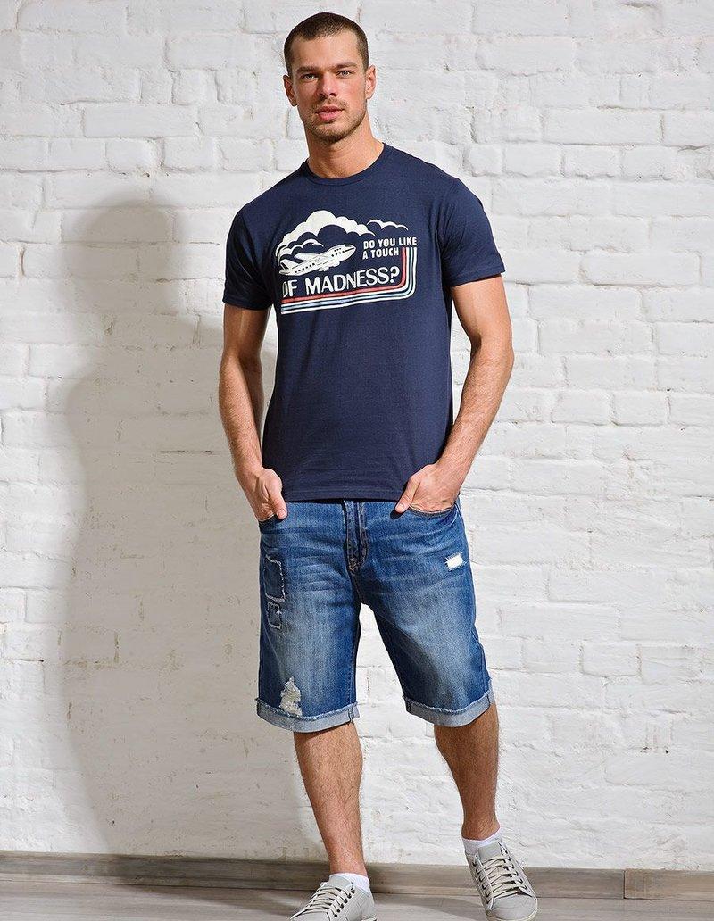 Бриджи мужские из джинс