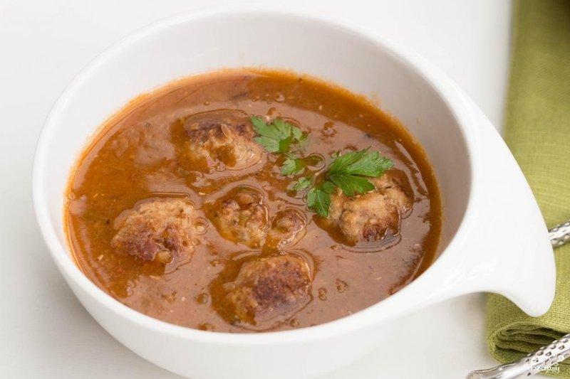 Как сварить суп с тефтелями пошаговый рецепт
