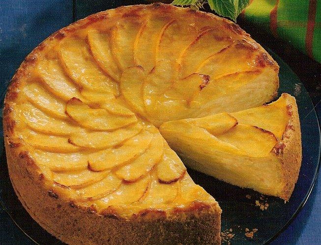 Кекс шарлотка с яблоками рецепт