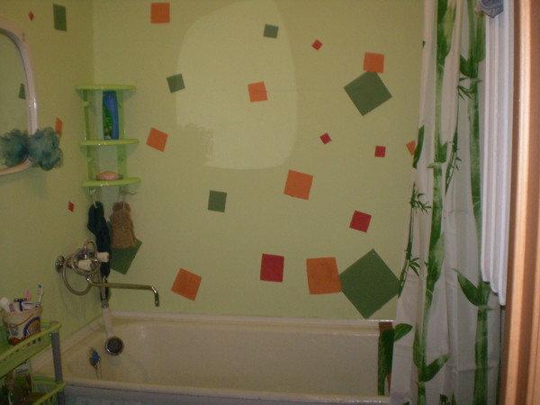 Красить ванную комнату своими руками 27
