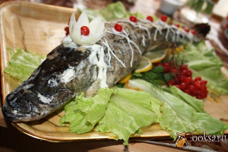 Рыба под сыром с овощами в духовке рецепт