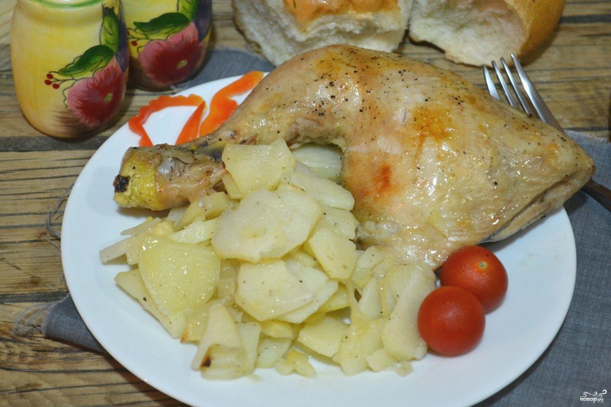 Курица в рукаве рецепты пошагово