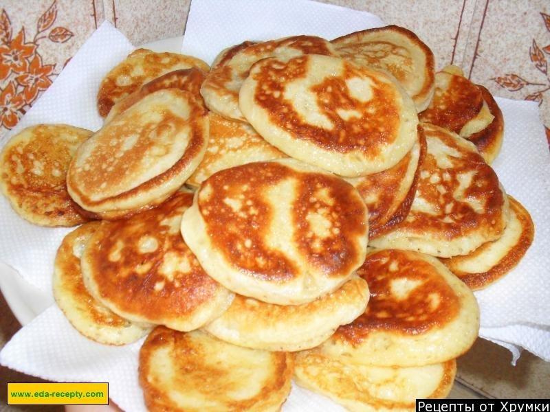Рецепты оладушек на дрожжах с фото пошагово