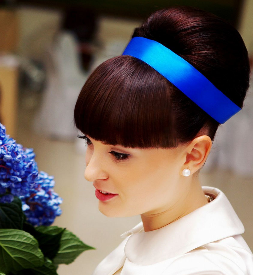 Ленты для волос прически с лентами