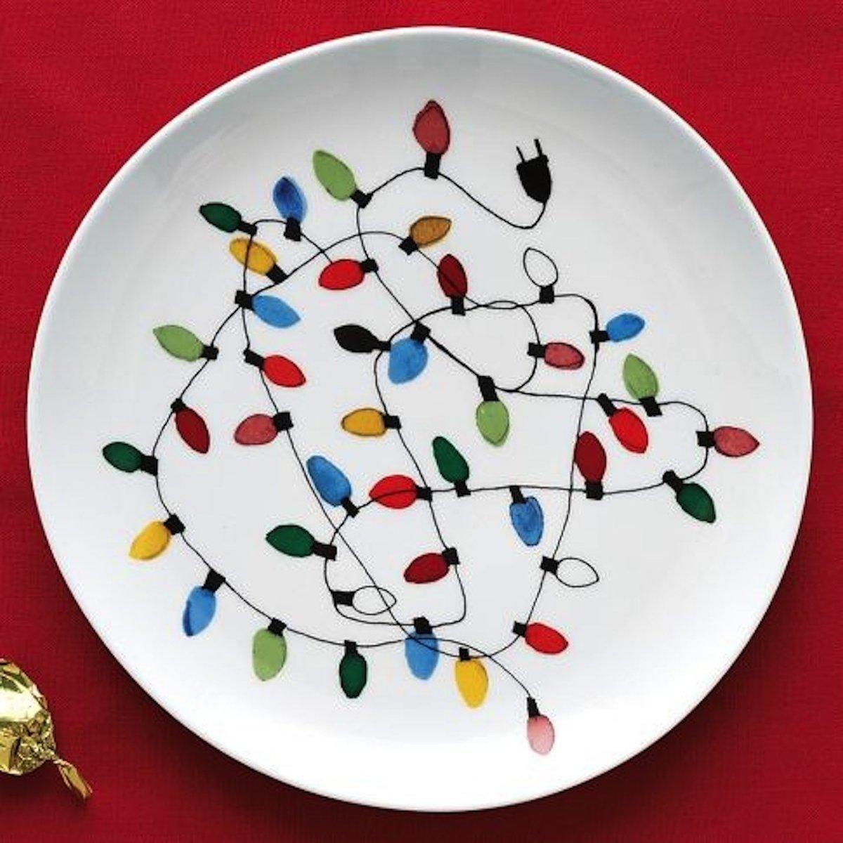 Роспись бумажных тарелок своими руками