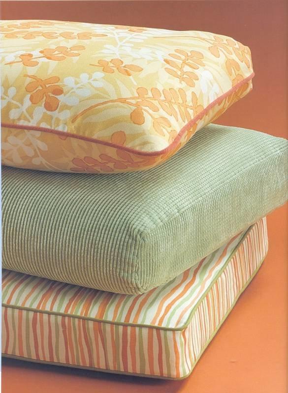 Обшить подушки для дивана своими руками
