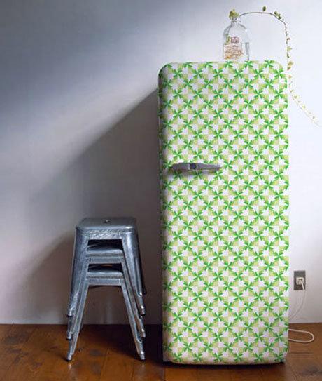 Декор старого холодильник