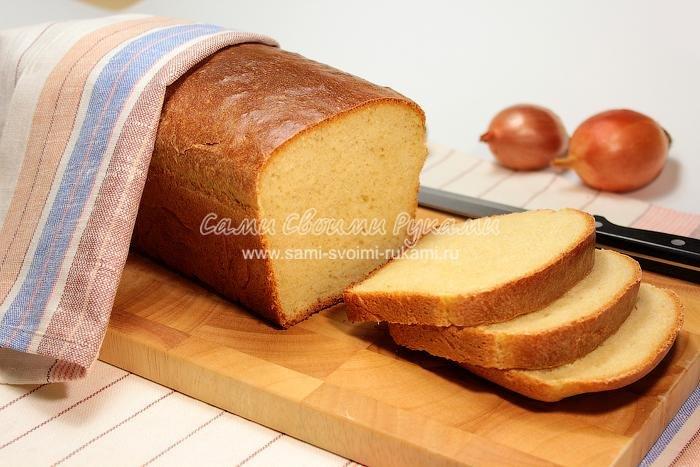 Хлеб из пшеничной муки своими руками 2