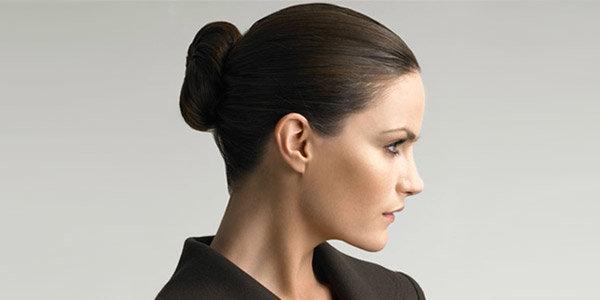 Женщины строгая причёска