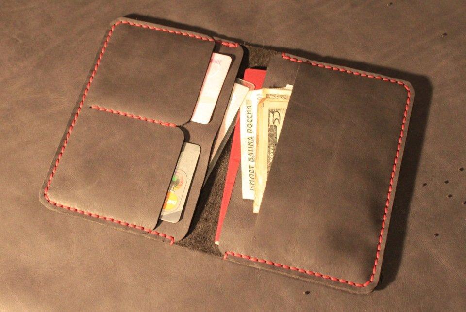 Как сделать портмоне для карточек