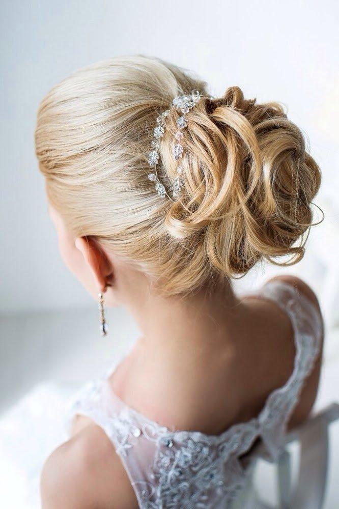 различные свадебные прически