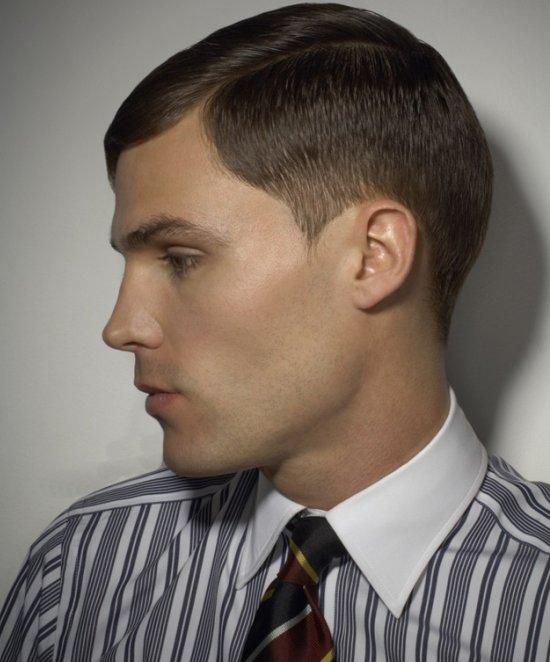 Домашние мужские прически для коротких волос