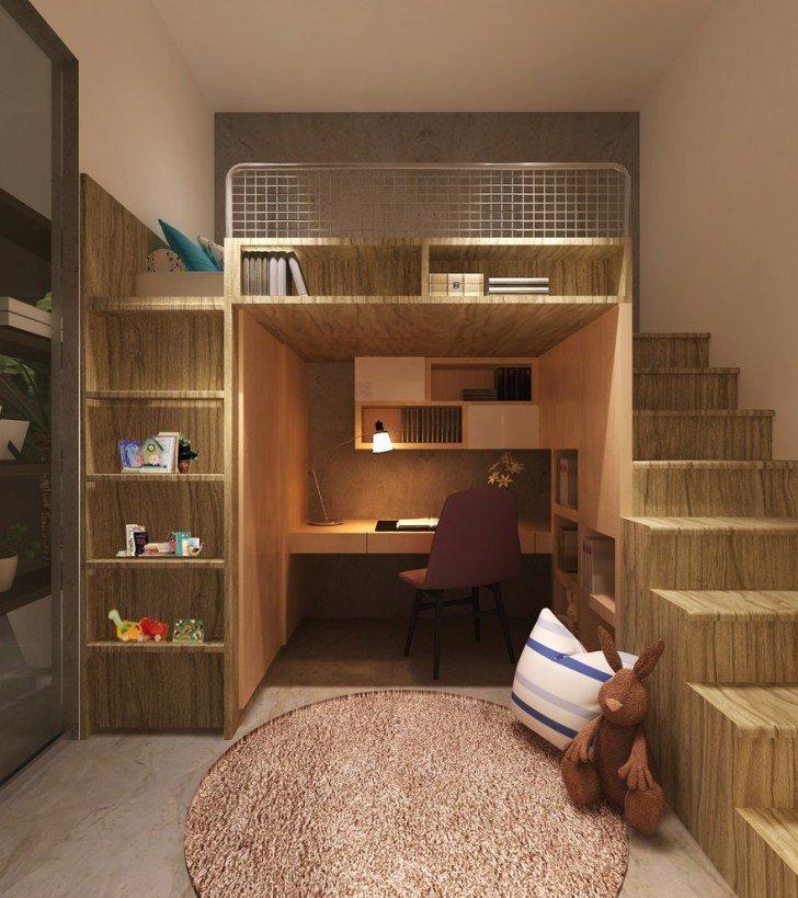 Как с маленькой комнаты сделать еще и кухню