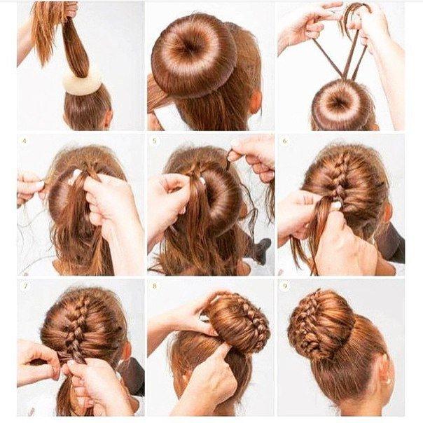 Как сделать девочке красивую причёску
