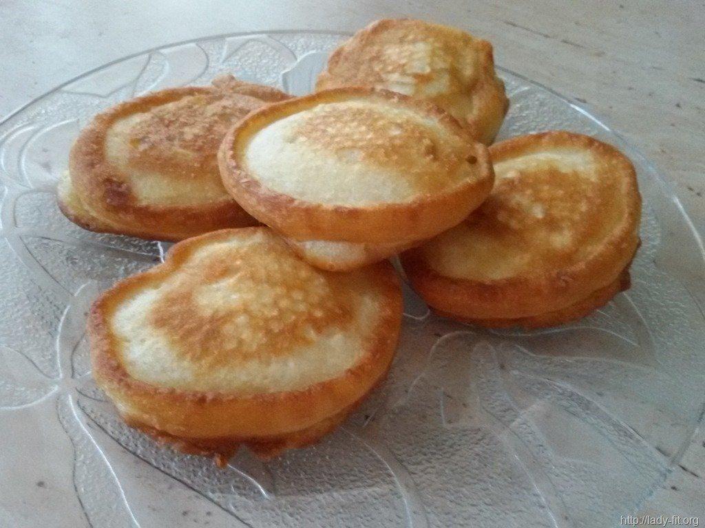 Низкокалорийные оладьи на кефире рецепт с фото пошагово