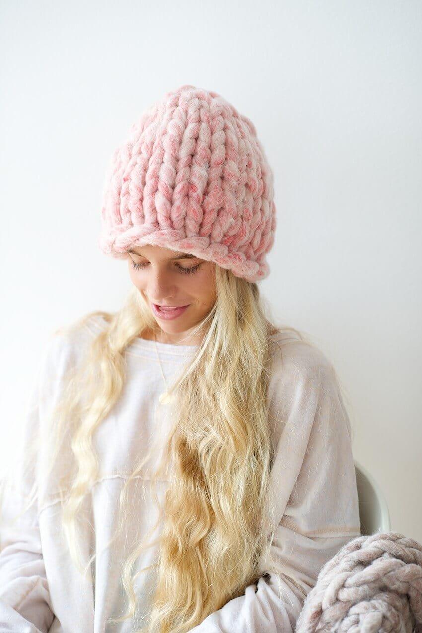 Вязание спицами шапки 2018 года 65