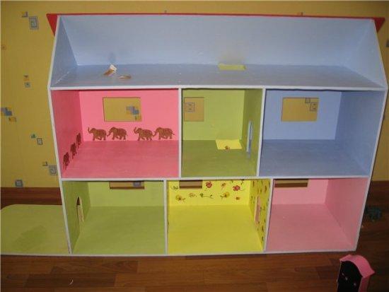 Кукольный дом мебель своими руками