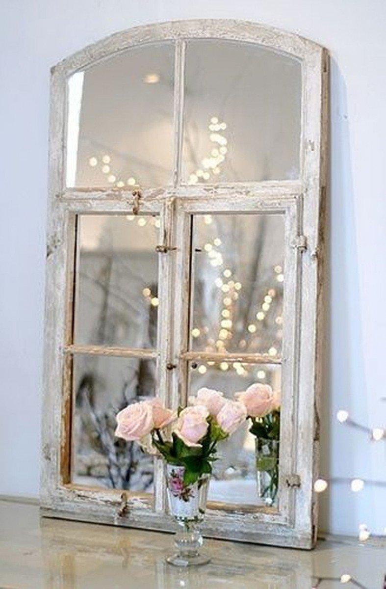 Как украсить старое окно своими руками 56