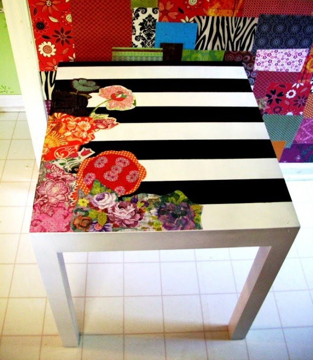 Декор столешницы кухонного стола своими руками
