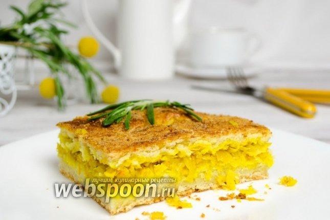 Вкусный пирог с с капустой