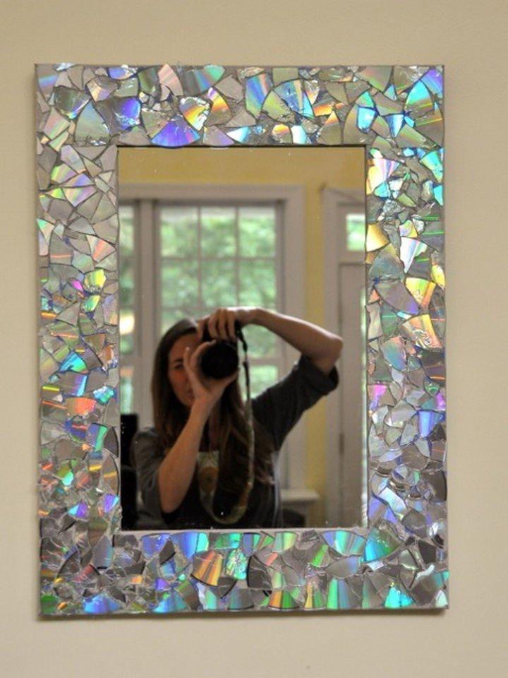 Обновление старого зеркала своими руками 89