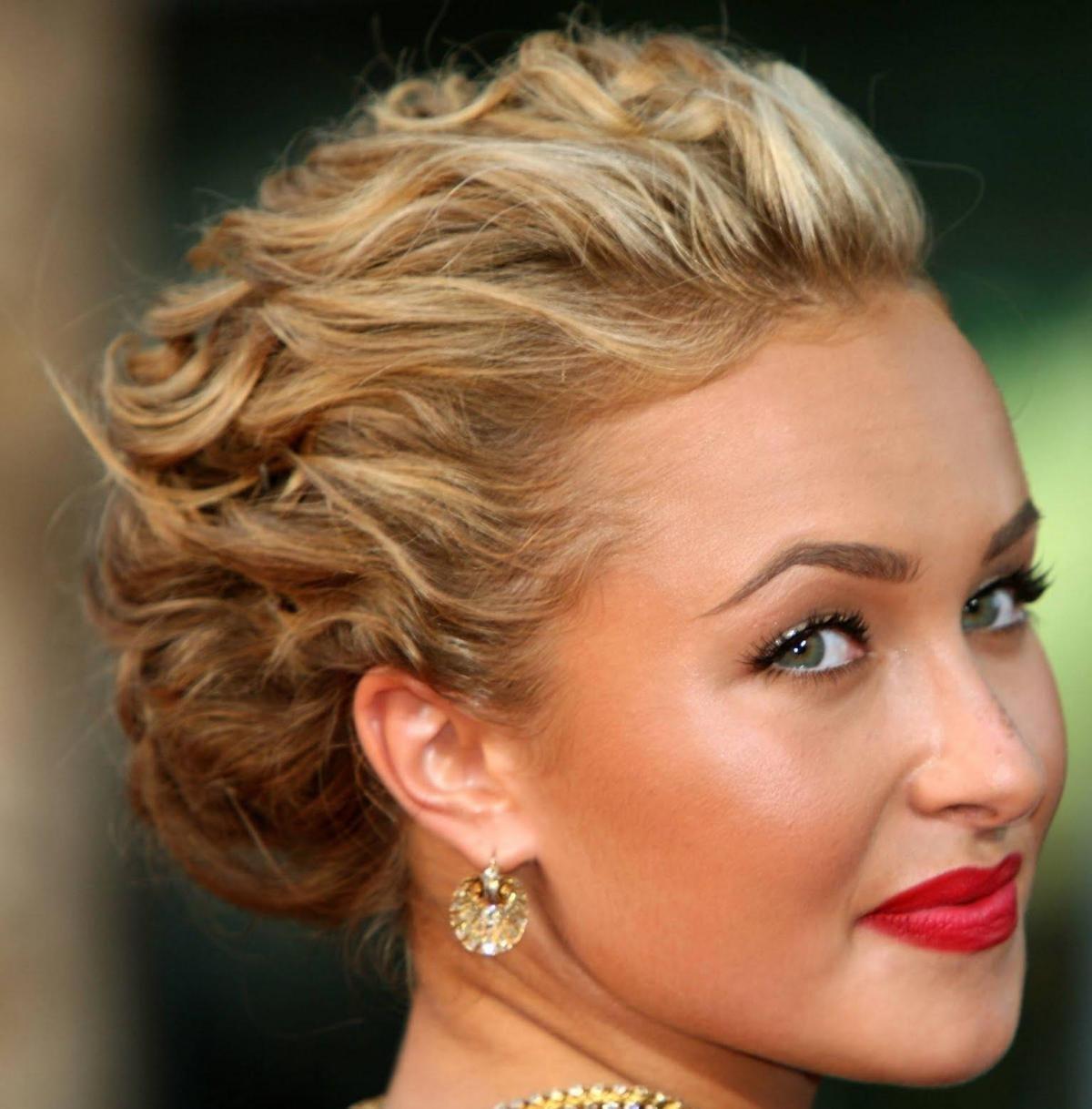 Фото красивых причесок на коротких волосах