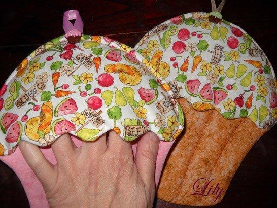 Прихватка из ткани своими руками