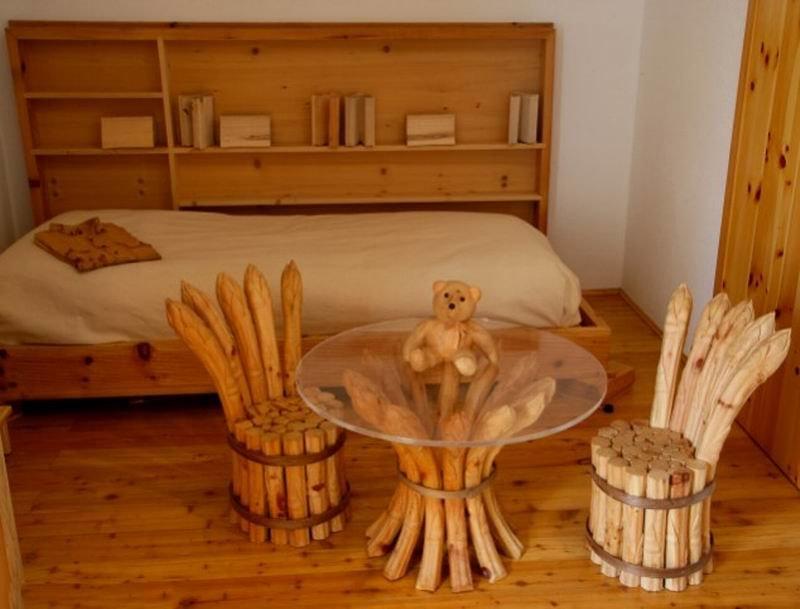 Поделки из дерева для дома