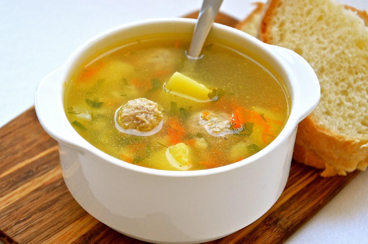 Суп с фрикадельками пошаговый рецепт с фото простой