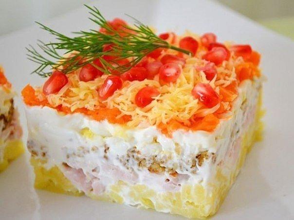 Найти фото и рецепты салатов