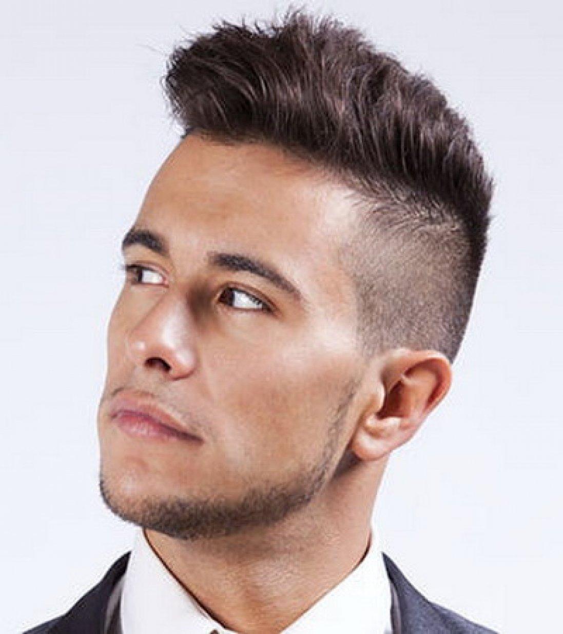 Какую сделать мужские прически если короткие волосы