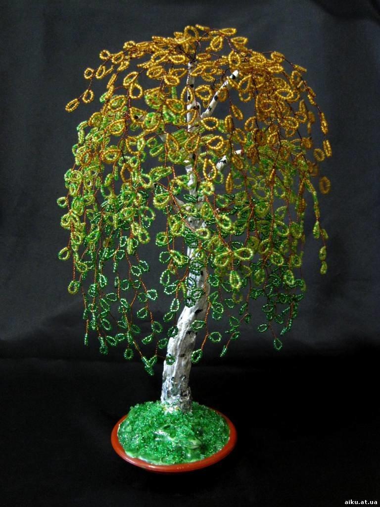 Как сделать с бисером дерево - TA-ivanovo.Ru