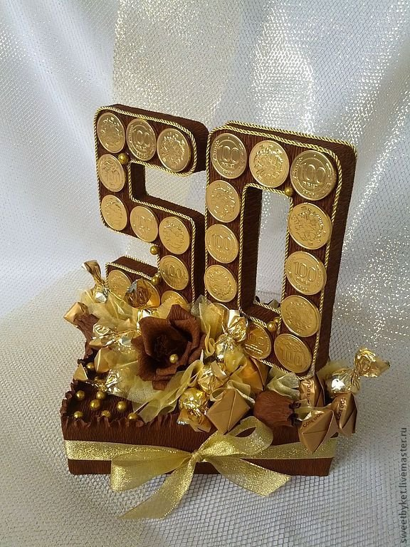 Оригинальный подарок своими руками на юбилей 55  255